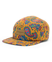 Obey Healer Brown 5 Panel Hat