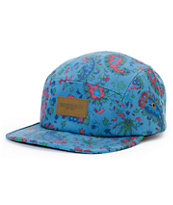 Obey Healer Ink Blue 5 Panel Hat