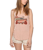 Obey Highway Rose Tank Top