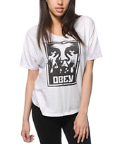 Obey Hold Up Tie Dye T-Shirt