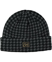 Obey Houndstooth Beanie