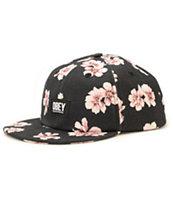 Obey In Bloom Floral Strapback Hat