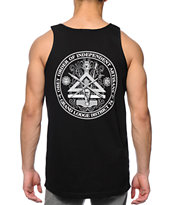 Obey Independent Artist Black Tank Top