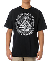 Obey Independent Artists Black Tee Shirt
