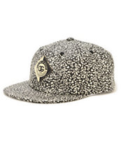 Obey Journey Leopard Strapback Hat