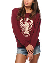 Obey Keepers Of Peace Crew Neck Sweatshirt