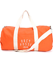 Obey Kenyon Paprika Duffle Bag