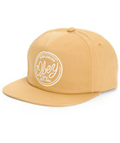 Obey Labor Strapback Hat