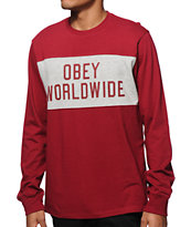 Obey League Long Sleeve T-Shirt