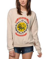 Obey Legalize It Crew Neck Sweatshirt