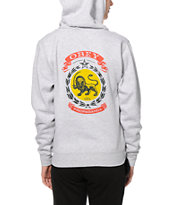 Obey Legalize It Zip Up Hoodie