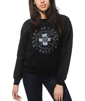 Obey Live It Dream It Crew Neck Sweatshirt