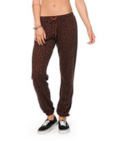 Obey Lola Leopard Sweatpants