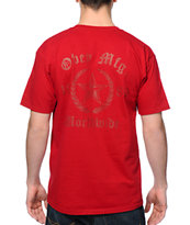 Obey Lower East Side Red Tee Shirt