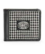 Obey Lowlands Houndstooth Bifold Wallet