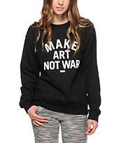 Obey MANW Block Font Crew Neck Sweatshirt