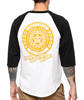 Obey Machinist Posse Baseball Tee Shirt