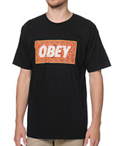 Obey Magic Carpet Black Tee Shirt