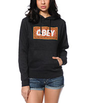 Obey Magic Carpet Charcoal Pullover Hoodie