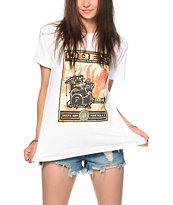 Obey Make Art Collage Press Tee Shirt