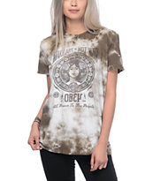 Obey Make Art Not War 2 Olive Tie Dye T-Shirt