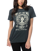 Obey Make Art Not War 2 T-Shirt