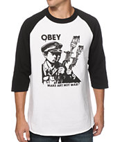 Obey Make It Better Baseball T-Shirt