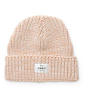 Obey Maywood Blush Beanie