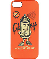 Obey Mr Spray iPhone 5 Case
