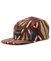 Obey Nation Green 5 Panel Hat