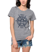 Obey Nautical Star Tee Shirt