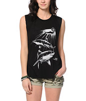 Obey Never Sleep Muscle T-Shirt