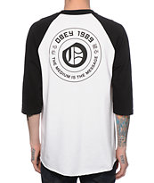 Obey New English Baseball T-Shirt
