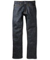Obey New Threat Raw Indigo Regular Fit Jeans