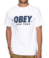 Obey New York Capsule Tee Shirt