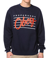 Obey Nine Nickel Navy Crew Neck Sweatshirt