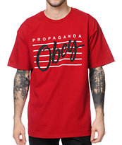 Obey Nine Nickel Red Tee Shirt