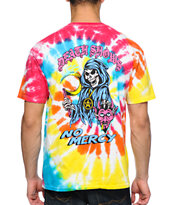 Obey No Mercy Tie Dye Tee Shirt