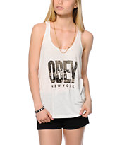 Obey OG NYC White Tank Top