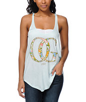 Obey OG Springs Light Blue Melody Tank Top