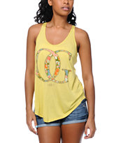 Obey OG Springs Yellow Melody Tank Top