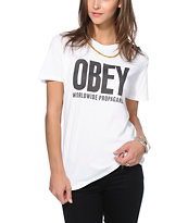 Obey OGNY White T-Shirt
