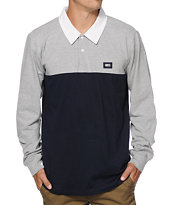 Obey Offside Long Sleeve Polo Shirt
