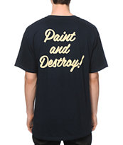 Obey Paint And Destroy T-Shirt