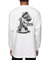 Obey Paint It Black Globe Long Sleeve T-Shirt