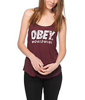 Obey Painted Futura Tank Top