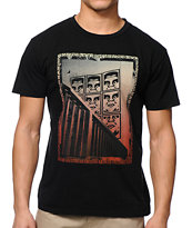 Obey Paisley Icon Black Tee Shirt