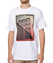 Obey Paisley Icon White T-Shirt