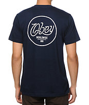 Obey Paradise Script Pocket T-Shirt