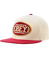 Obey Phillies Brick Snapback Hat